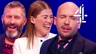 Talking About Will Smith's Genie in Aladdin with Tom Allen & Rosamund Pike! | The Last Leg