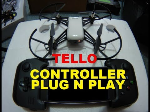 DJI Ryze Tello CONTROLLER THAT WORKS BAM Flight Demo Review