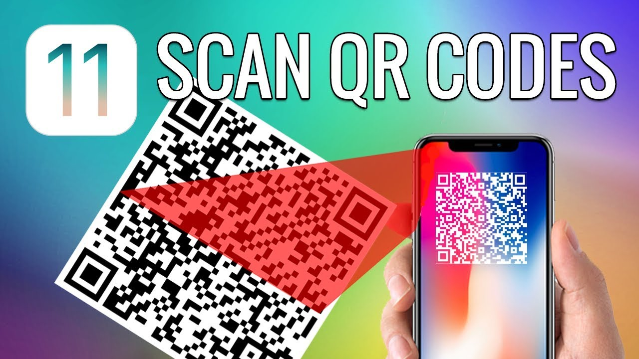 How to scan QR code on iPhone with iOS 11