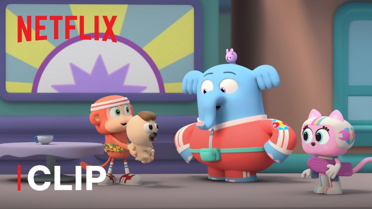 Chico Bon Bon: La scimmietta ingegnosa 🐶 Dog sitter per un giorno | Netflix Jr