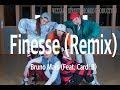 Bruno Mars - Finesse (Remix) (Feat. Cardi B) / Megie Choreography / New Jack Sw…
