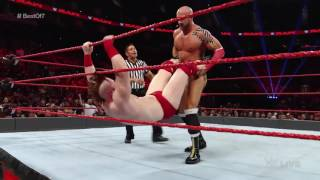 Cesaro vs. Sheamus — Match Two of a Best-of-Seven Series: Raw, Aug. 29, 2016
