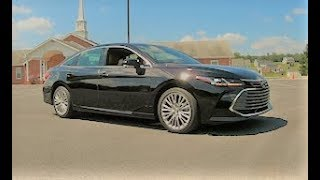 2019 Toyota Avalon Limited Full Review and Test Drive