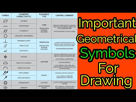 Geometric Symbols in Engineering Drawing. Geometric symbols. Geometric symbols Engineering. GD&T