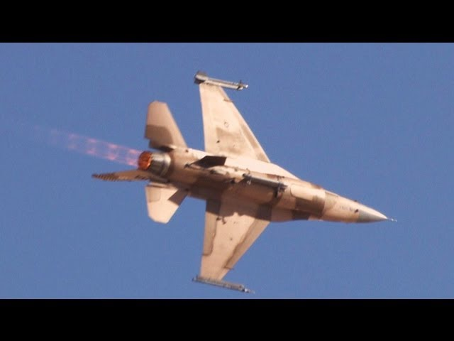 2012 Aviation Nation - F-15 vs.F-16 Aggressor Air-to-Air Demo