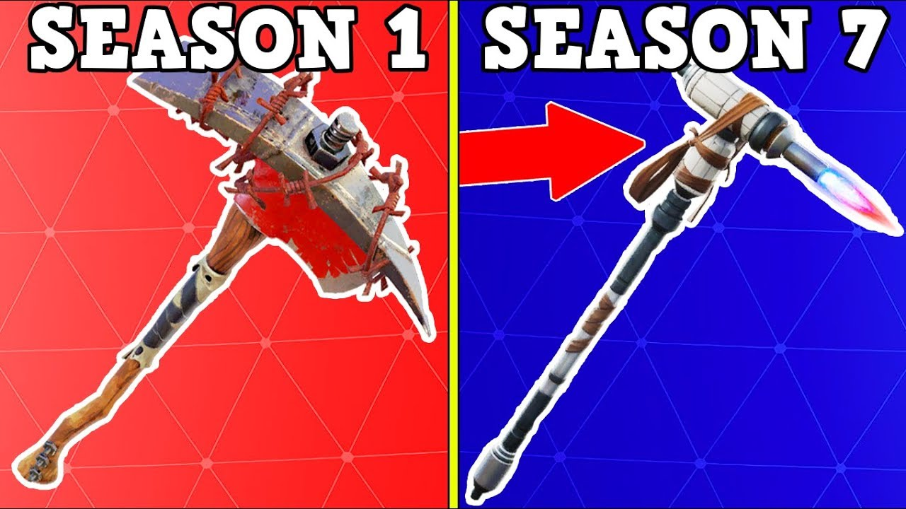 RANKING EVERY BATTLE PASS PICKAXE FROM WORST TO BEST ...