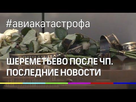 Аэропорт Шереметьево после