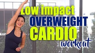 Low Impact OVERWEIGHT Cardio Workout (100kgs above!) | Joanna Soh