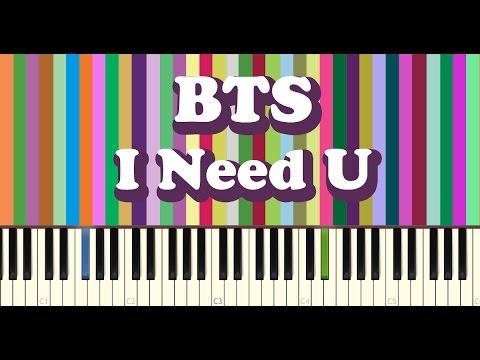 BTS(방탄소년단) - I NEED U piano cover