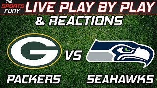 Packers vs Seahawks | Live Play-By-Play & Reactions