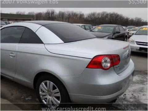 2007 volkswagen eos used cars independence mo youtube. Black Bedroom Furniture Sets. Home Design Ideas