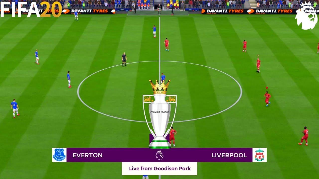 FIFA 20 | Everton vs Liverpool - Premier League - Full Match & Gameplay -  YouTube