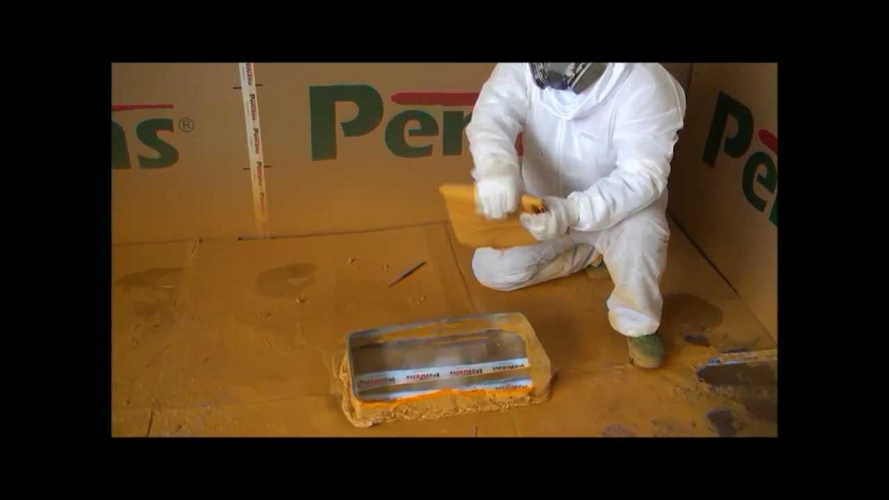 Spray Pentens Polyurea On the Ice Block (Part 2) 快速硬化噴塗聚脲酯