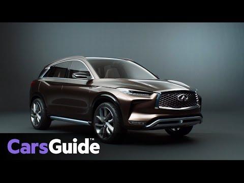Infiniti QX50 Concept in detail | video