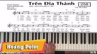Hướng dẫn đệm Piano: Trên Đĩa Thánh - l Mi Trầm l - Hoàng Peter