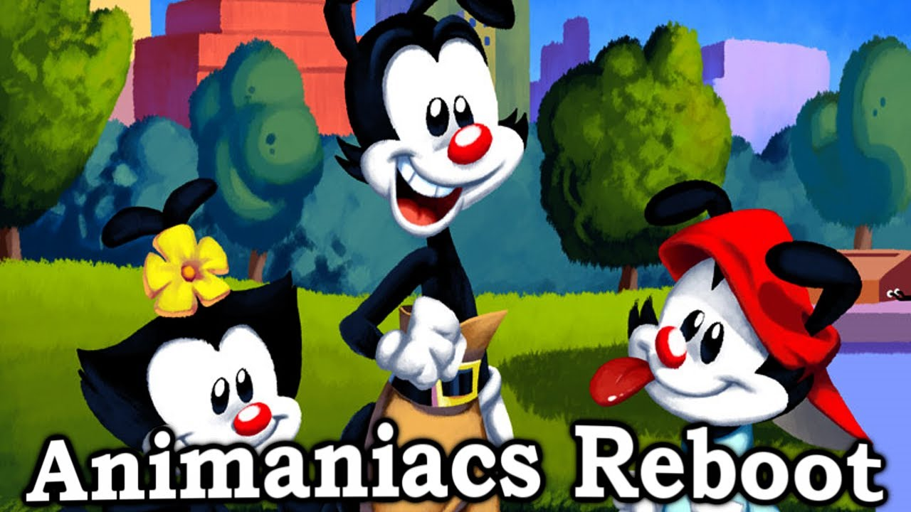 ANIMANIACS REBOOT is real!