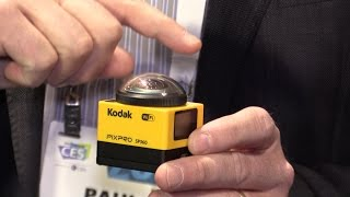 01. CES 2015 First Look: Kodak PIXPRO SP360 - 360 degree video capture