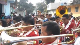 banda la reyna de huajuapan la mareada en santa maria aztahuacan 2014