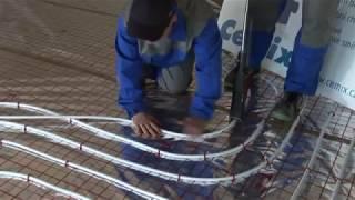 Cemix - Anhydritové podlahy