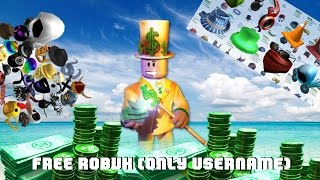 ROBLOX ~ FREE ROBUX WITH ONLY USERNAME!!! [STILL WORKS!]