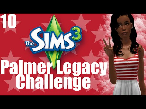 The Sims 3: Palmer Legacy Challenge - Part 10   What Daddies Do
