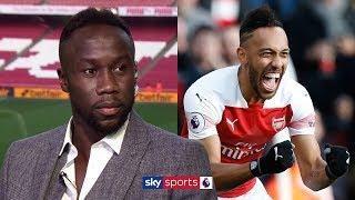 Is Pierre-Emerick Aubameyang Arsenal's best striker since Thierry Henry? | Sagna, Redknapp & Scott
