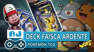 JOGANDO COM O DECK FAÍSCA ARDENTE DA COLEÇÃO TURBO REVOLUÇÃO - Pokémon Trading Card Game