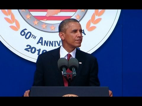 President Obama Honors the 60th Anniversary of the Korean War Armistice