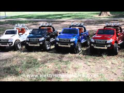 ford ranger kinderauto met afstandsbediening youtube. Black Bedroom Furniture Sets. Home Design Ideas