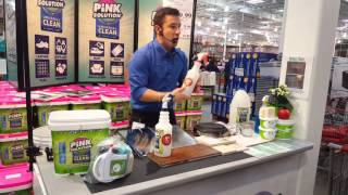 pink solution clean pink solution scrub formally mother s choice costco 2016 demo