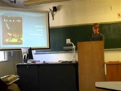 College public speaking class?