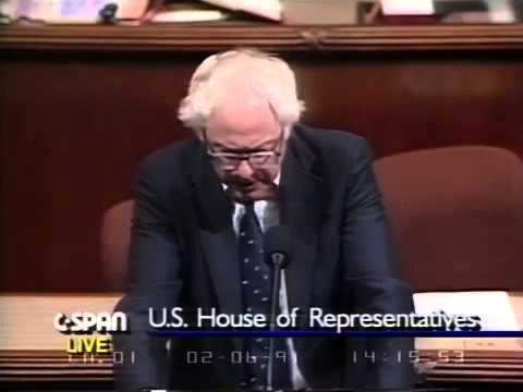 Bernie Sanders on Bank Bailouts (1) (S & L Crisis) [2/6/1991]