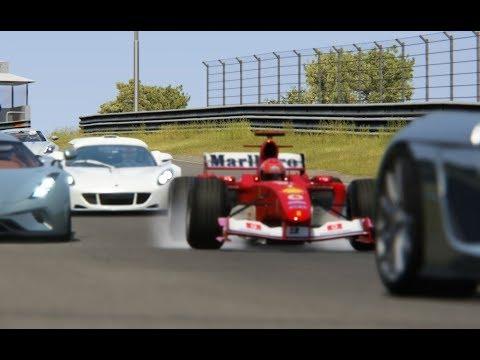 Ferrari F1 2004 Michael Schumacher vs Supercars at  Zandvoort Mp3