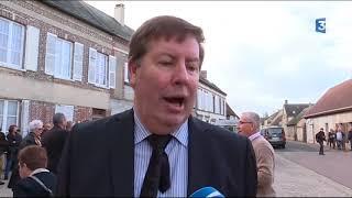Obsèques de Danielle Darrieux : Jean-Pierre Morel, le maire de la commune de Bois-le-Roi (Eure)