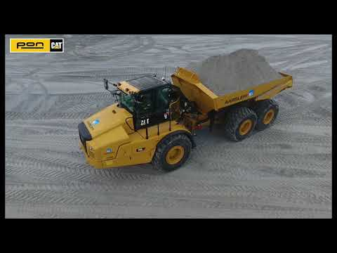 Cat 745 dumper udvider Frederikshavn Havn