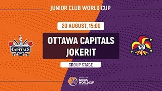 Junior Club World Cup 2018. Ottawa Capitals – Jokerit (U20)