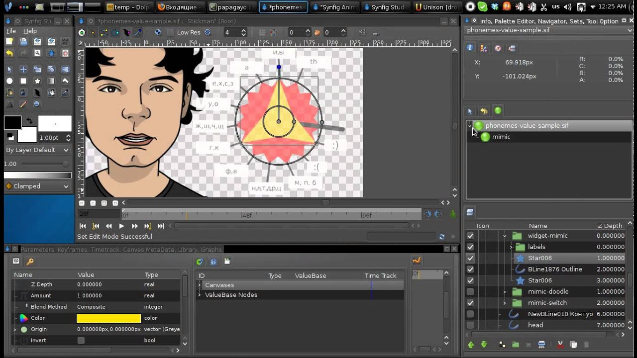 Synfig Animation Templates