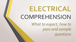 Electrical Comprehension Tests; what to expect, how to pass, sample questions