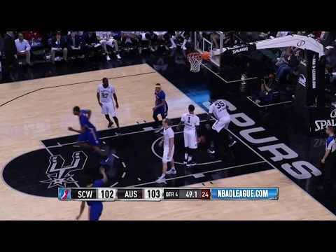 Highlights: Damian Jones (23 points)  vs. the Spurs, 3/23/2017