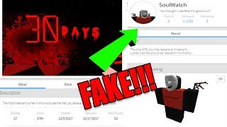 SOUL WATCH IS FAKE (WITH PROOF) *EXPOSED*! THESE FAKE ROBLOX HACKER GROUPS MUST STOP!
