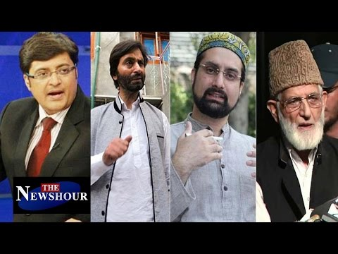 Should India TRUST Kashmiri Separatists Leaders?: The Newshour Debate (10th Aug 2016)