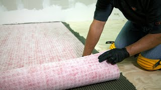How to Install RedGard Waterproofing and Crack Prevention Membrane