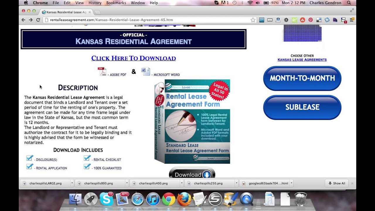 Kansas Residential Lease Agreement