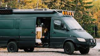 A Day of OFF-GRID Van Life | Why We're LIVING in a Camper Van