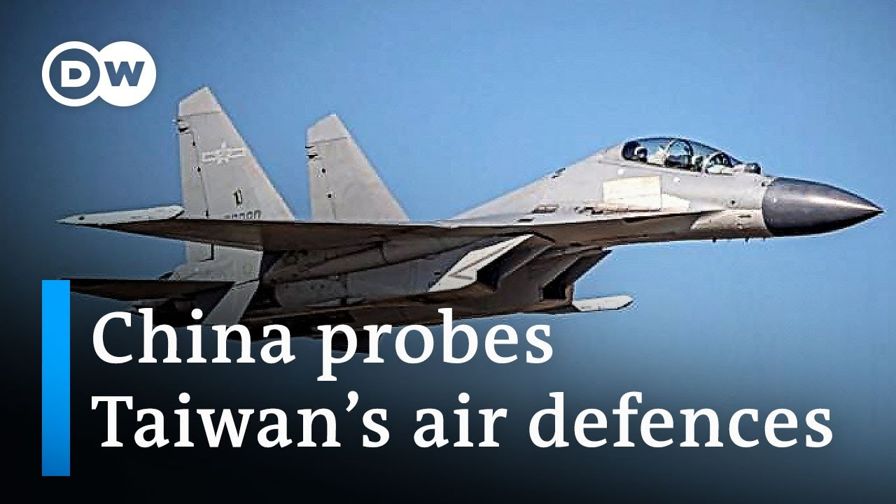 The many signals China is sending with its Taiwan flyovers