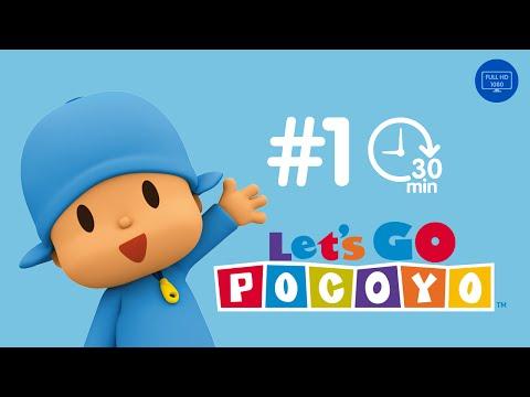 Let's Go Pocoyo! 30 MINUTOS [Episodio 1] en HD