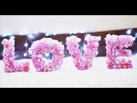 ♡DIY День Святого Валентина.  ♡Украшаем комнату ♥ Valentines Room Decor. ♥ ♥ ♥ - Простые вкусные домашние видео рецепты блюд