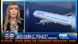 Kate Hanni Talking about United Airlines Anti-Family Policie