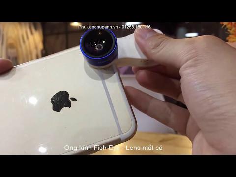 Review bộ ống kính chụp hình cao cấp 3in1 Funipica 0.36x cho điện thoại [ F - 516 ]