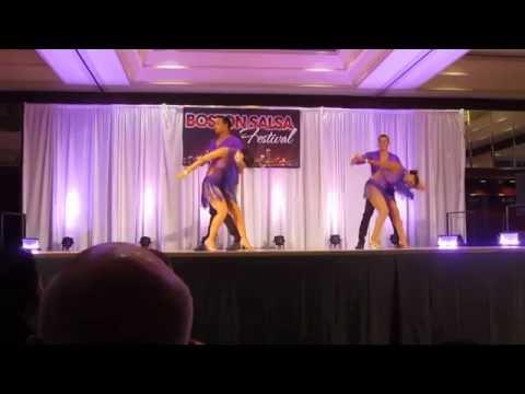 2015 Boston Salsa Festival - Mambo Pa Ti Pro Team Performance